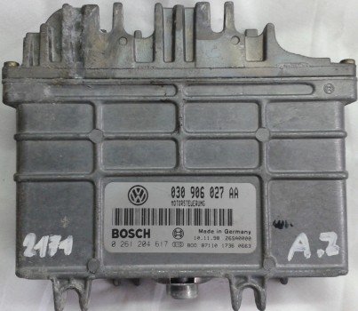 ECU 0261204616-617 VW Polo 1.4
